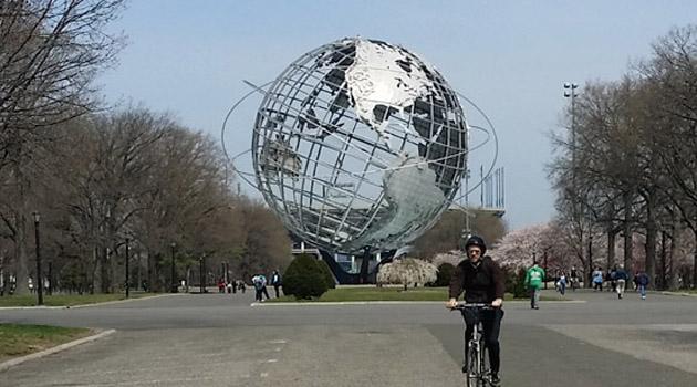 擴張宇宙中緊縮的星球──紐約世博會場(1964 World's Fairgrounds)