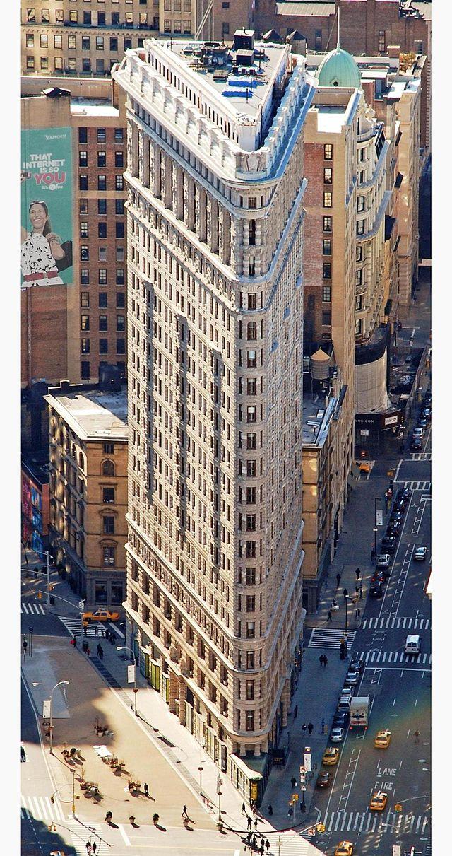 明明就是千層派!(引用自維基百科 http://commons.wikimedia.org/wiki/File:Edificio_Fuller_(Flatiron)_en_2010_desde_el_Empire_State.jpg)