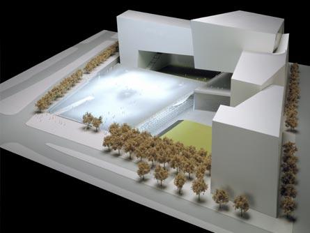 入圍05 設計者:Gisela Baurmann, Sawad Brooks and Jonas Coersmeier 主題:Passages of Light : Memorial Cloud (圖片引用自主辦單位網站:wtcsitememorial.org)